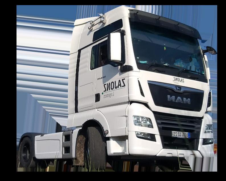 Weißer LKW - Zajonz Logistics – Ihrem Logistikspezialisten in Bottrop und Dorsten